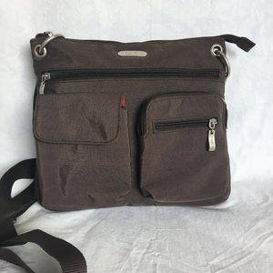 Baggallini Brown Nylon Shoulder Bag